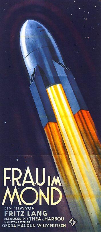 Filmposter van Frau im Mond