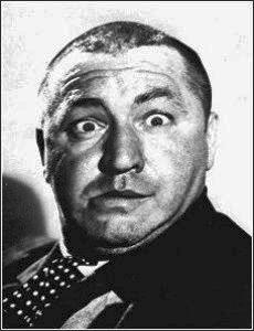 """Bob Gardner's """"Three Stooges and Statistics - Introduction ... Curly Howard 1952"""