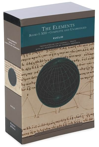 bob gardner s euclid s elements a 2 500 year history today webpage