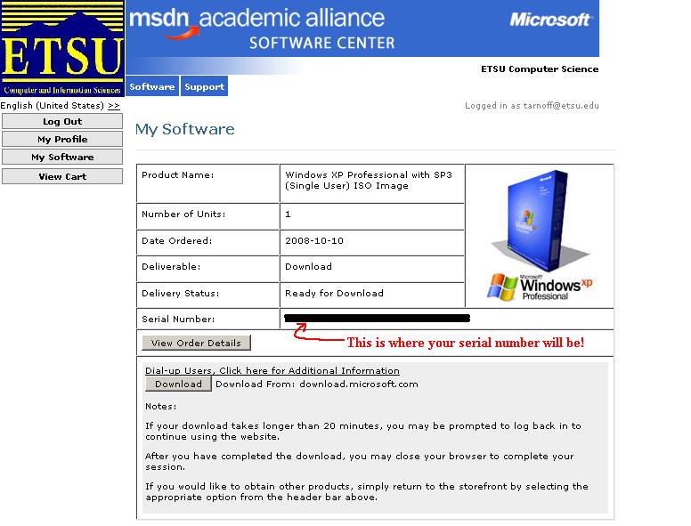 David Tarnoff's Instructional Resources -- Windows XP Installation